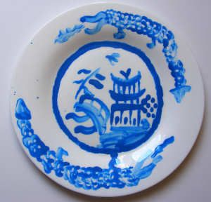 Willow Pattern Plate Craft Willow Pattern Plate Crafts