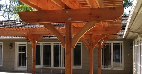 Single Post Pergola Patio Pinterest Pergolas