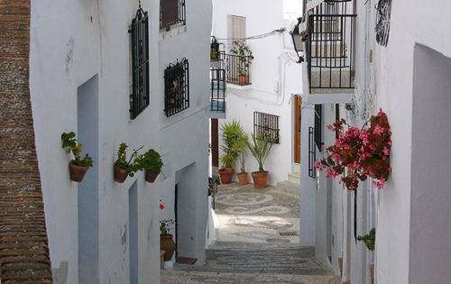 Oh, Hell yes! Beautiful, Ancient Street, Andalucia, Spain