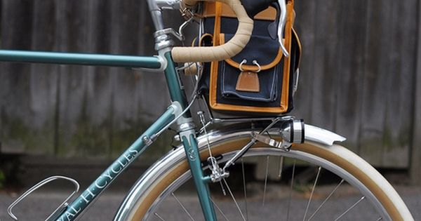 Gilles Berthoud Handlebar Bag Handlebar Bag Bicycle Handlebar