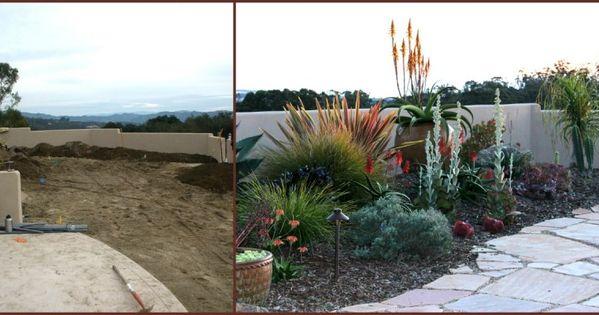 landscape before  u0026 after in arroyo grande