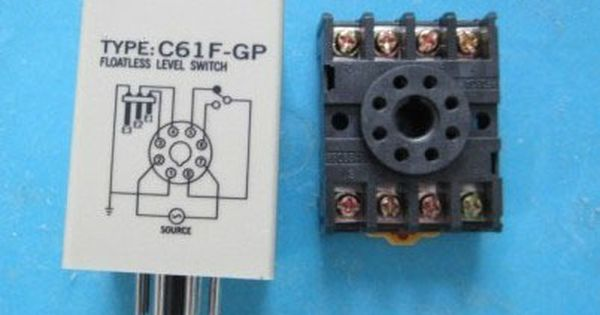 C61f Gp Level Relay Water Level Controller Switch Pump