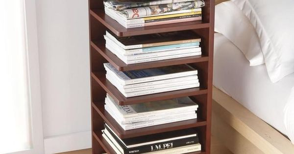 Bedside table/bookshelf  DIY 서랍장  Pinterest
