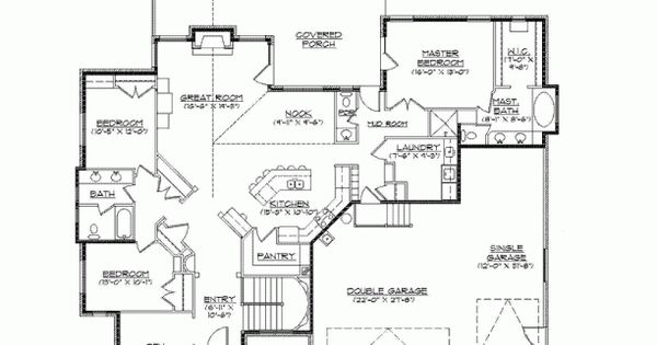Eplans new american house plan mountain craftsman for Craftsman rambler house plans