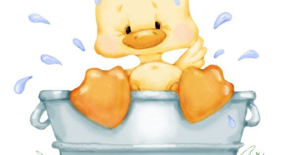 Résultat d'images pour gifs petits canards de bain