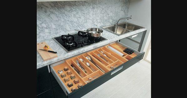 Diviseur couverts rangement pour armoires de cuisine for Accessoires de rangement pour cuisine