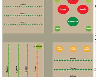 potager simple 2 site avec plusieurs exemples et liens pour d autres r f rences jardin. Black Bedroom Furniture Sets. Home Design Ideas