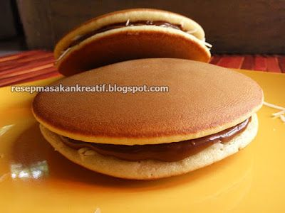 Resep Dorayaki Teflon Praktis Coklat Keju Kue Asli Jepang Resep Masakan Indonesia Makanan Makanan Manis