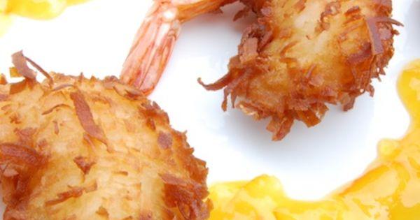 Art Coconut Shrimp appetizers