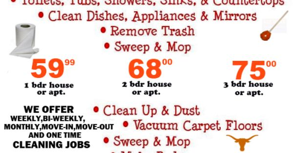 cleaning service for business
