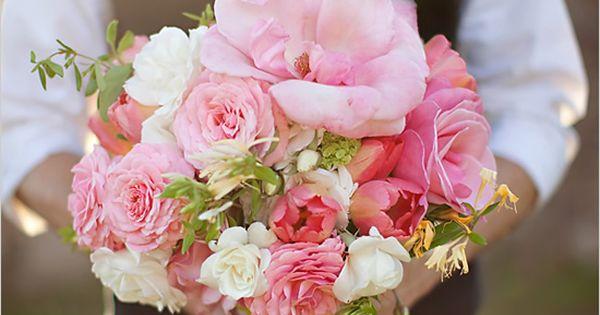Wedding bouquet - Pink Bridal Bouquet