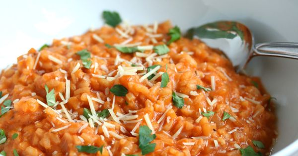Roasted Tomato Risotto | Recipe | Roasted Tomatoes, Risotto and ...