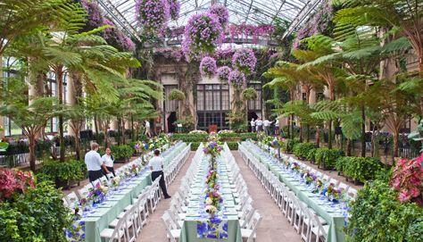 Longwood Gardens Wedding Venue
