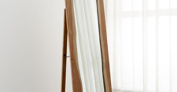 Live Edge Floor Mirror Crate And Barrel Crate And
