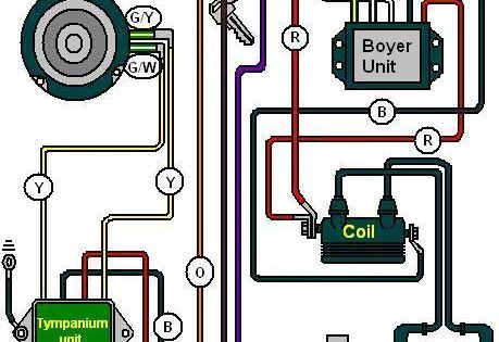 wiring diagram for triumph bsa with boyer ignition | motorcycle