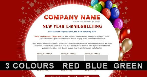 15 Trendy Email Newsletter Templates 2017 Send New Year Wishes Useful Blogging New Year Greetings New Year Wishes Birthday Greetings