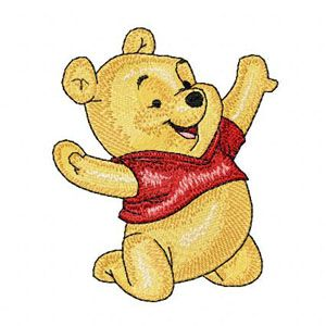 Baby Pooh 5 Machine Embroidery Deisgn Machine Embroidery