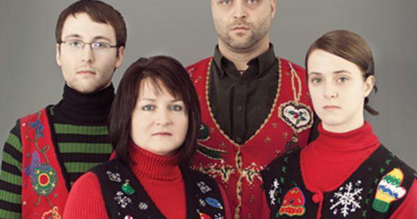 Awkward Christmas Family Photo | Ugliest christmas sweaters