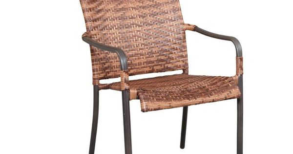 Manila Bay Woven Patio Stack Chair 133 014 Chr At The Home