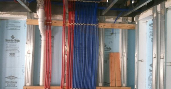 Pex plumbing system plumbing heating electric for Pex vs copper cost