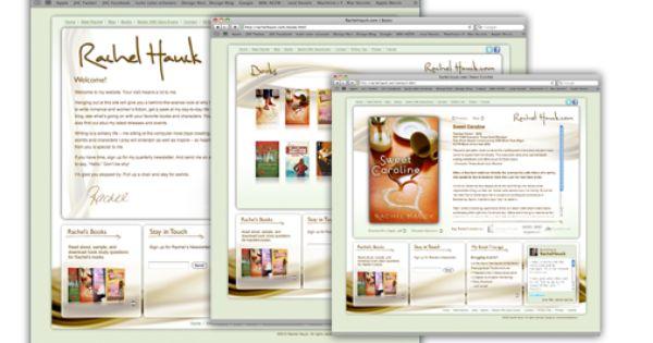 Web Design Rachelhauck Com Bestselling Author Creative Portfolio Web Design