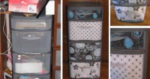 Upcycle plastic drawer organizer diy plastic drawers for T shirt drawer organization