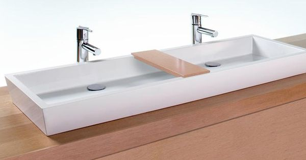 Genius sinks options for small bathrooms trough sink