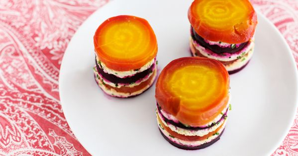 Beet Mille-Feuille from the La Tartine Gourmande Cookbook