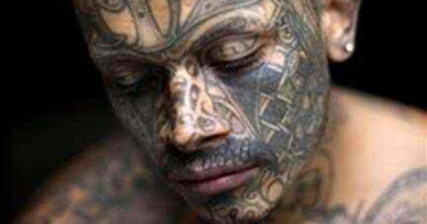 MS13 member. #tattoos #ms13 | Vida y Muerte en la MS13 ...