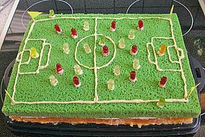 Kicker Kuchen Rezept Cakes In 2019 Fussball Kuchen