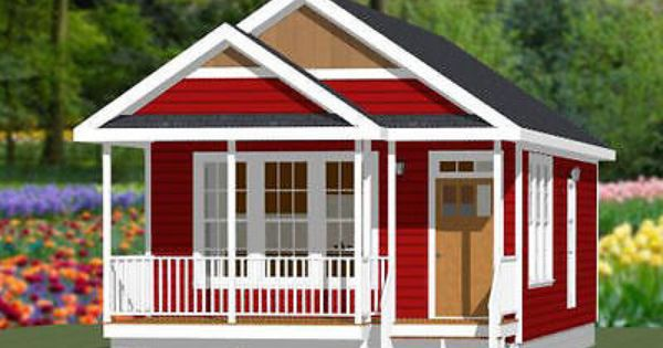 18x32 Tiny House 576 Sqft Pdf Floor Plan Model 1