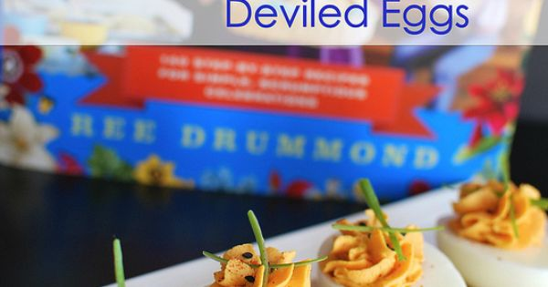 Sriracha deviled eggs, Deviled eggs and The pioneer woman on Pinterest