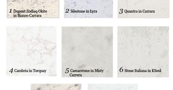 Quantra Carrara Quartz With Maple Cabinets Google Search