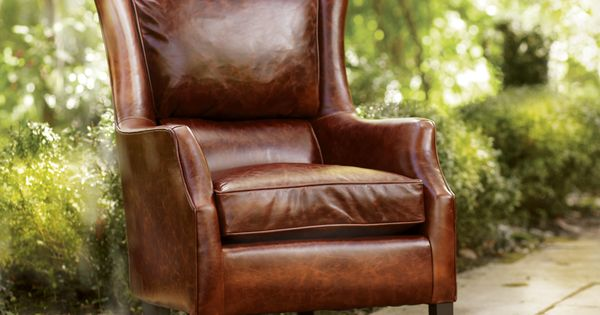 Brown Leather Chair - Living Room Chairs | Arhaus Furniture | Living room |  Pinterest | Chairs, Smoke and The high - Brown Leather Chair - Living Room Chairs Arhaus Furniture