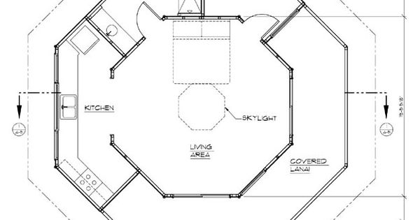 Two story octagon house plans search results mat bang for Octagon shape house plans