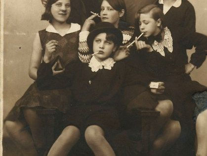 girl gang. 1930. bad girls