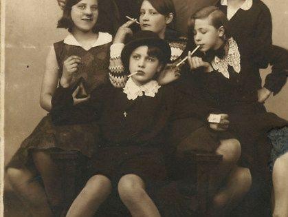 girl gang. 1930. bad girls