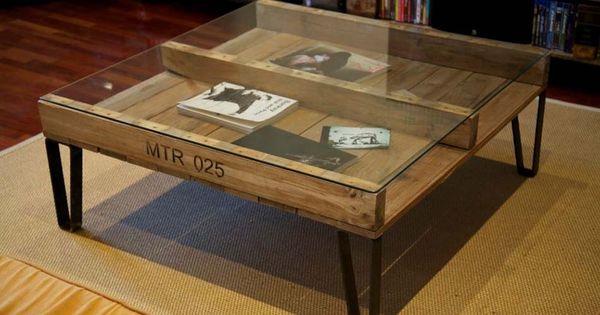 objets recycl s pour d corer la maison de fa on tr s personnelle et originale style industriel. Black Bedroom Furniture Sets. Home Design Ideas