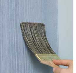 Home Dzine How To Apply Dragging Paint Technique Wall Painting