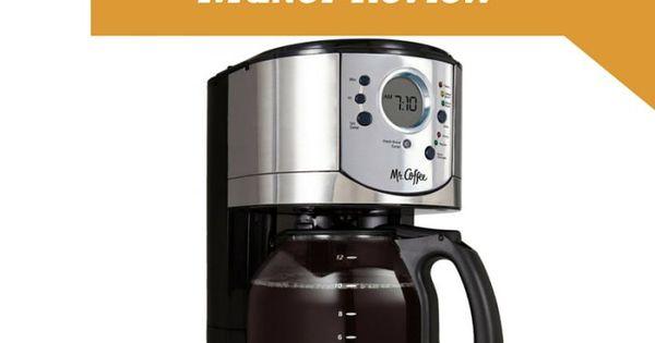 Meet The Mr Coffee Bvmc Cjx31 Am Coffee Maker The Under