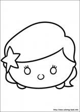 Tsum Tsum Coloring Pages On Coloring Book Info Tsum Tsum Coloring Pages Tsum Tsum Disney Tsum Tsum