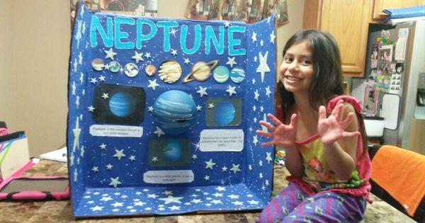 School Project Of Planet Neptune Kids Pinterest