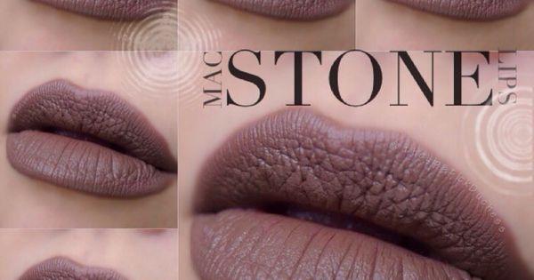 mac stone lipstick make up pinterest farben make up und mac. Black Bedroom Furniture Sets. Home Design Ideas