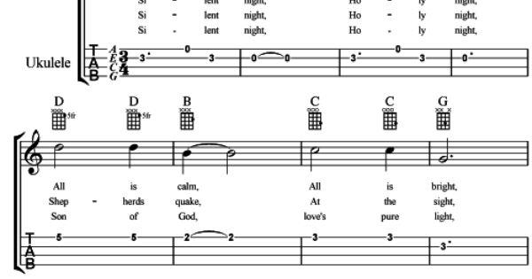 Ukulele Silent Night Chords : l Learn l Play Ukulele : Pinterest : Silent night