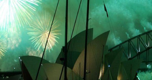 Sydney, Australia, New Years Eve.