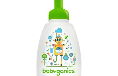 Babyganics Foaming Dish Bottle Soap Fragrance Free 16oz