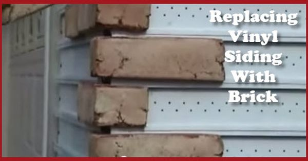 You Can Replace Vinyl Siding With Brick