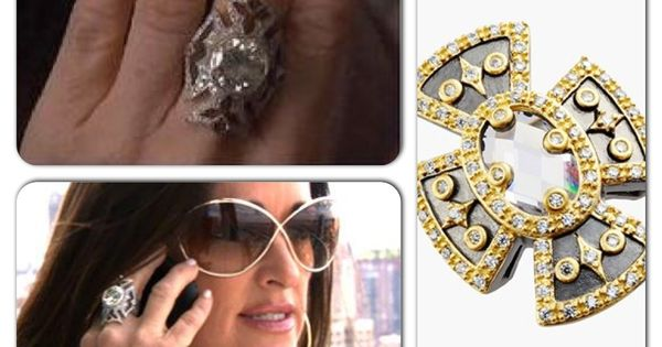 Kyle Richards Loree Rodkin Ring For Less At The Nordstrom