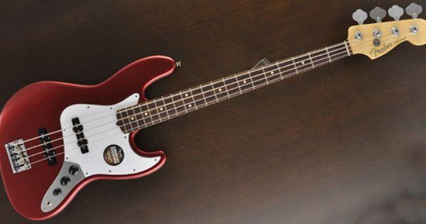 Fender American Standard Jazz Bass Mystic Red Free Shipping D Fender American Standard Fender Jazz Bass Bass
