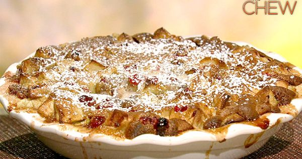 Apple Cranberry Cobbler: Made a one serving size in a ramekin and
